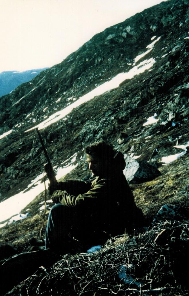 Jagt ved Blæseren tæt på Ikke Fjordens ved dens forbindelse til Sydløber ved Arsuk Ø.