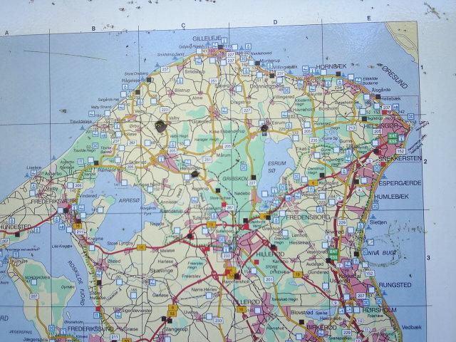 Impressions From Danish Riviera Between Skodsborg Vedbaek And
