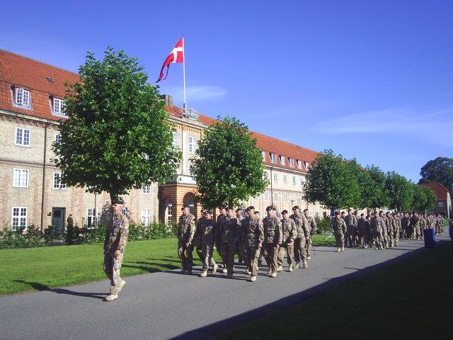 Livgardens Kaserne. Foto: 5. september 2010