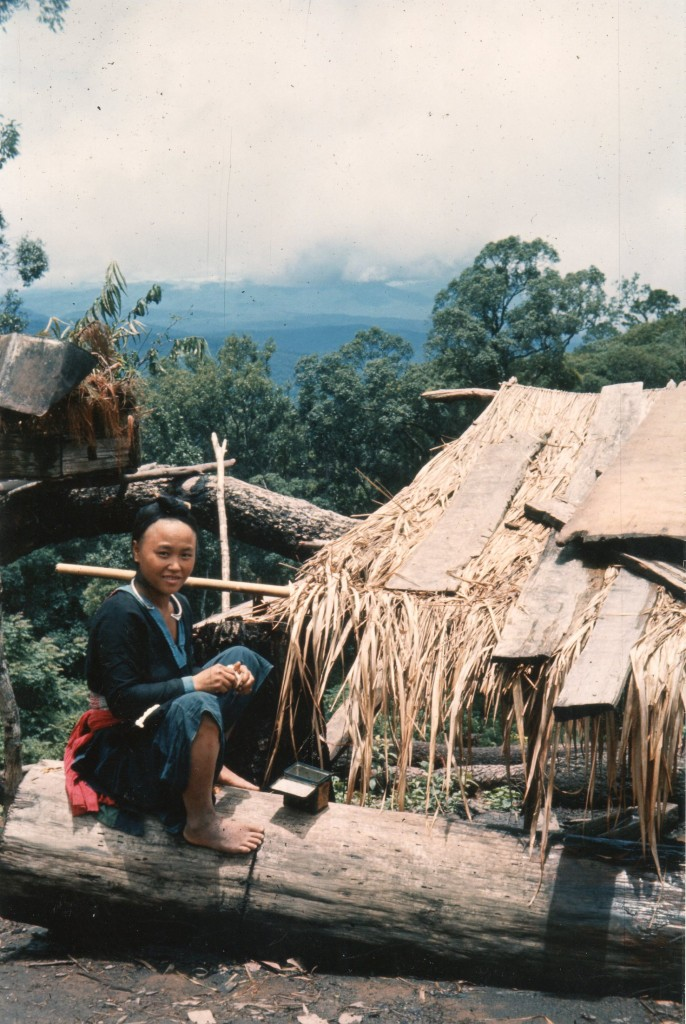 Visiting Hill Tribe White Maew Group near Chiang Mai july ...
