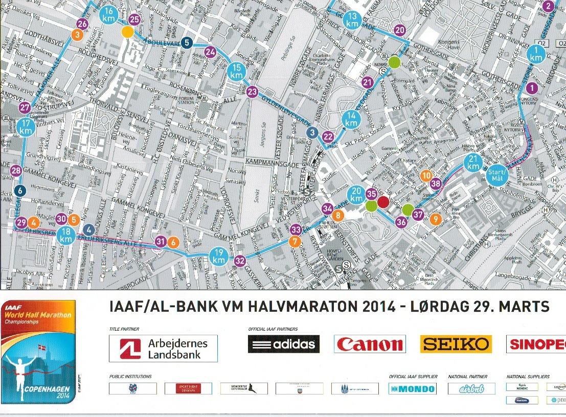 Vm I Halvmaraton 2014 I Kobenhavn En Folkefest Med 225