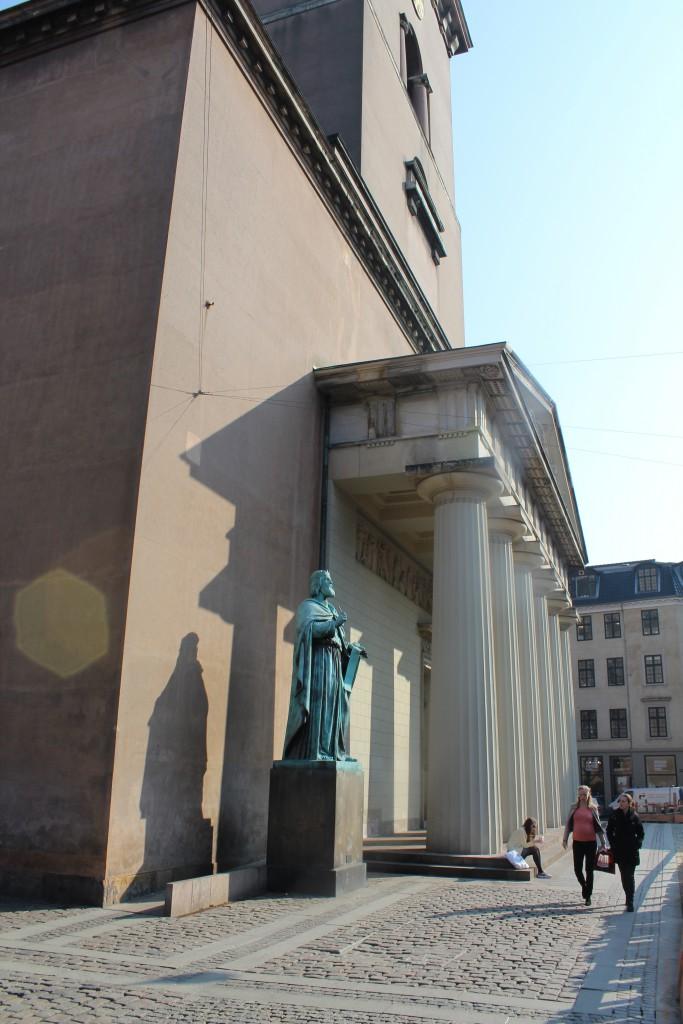 Vor Frue Kirke - Domkirken i København. Foto den 16. marts 2015 af erik K abrahamsen