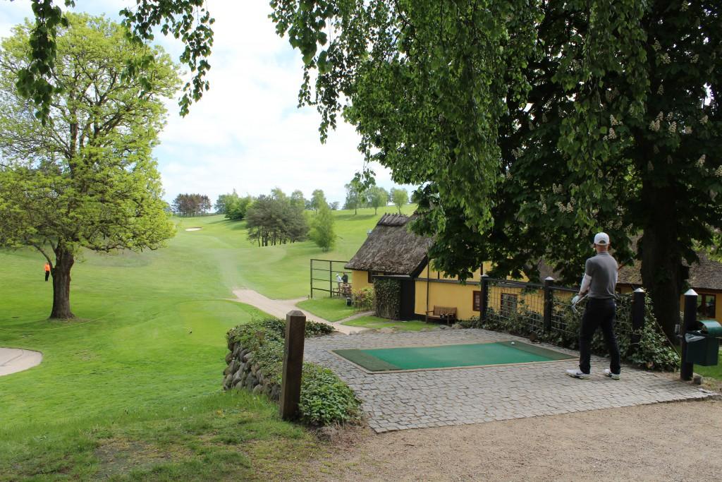 Asserbo Pokalen Elite amatør golfspillere slagspil 54 huller over 2 dage. Fo