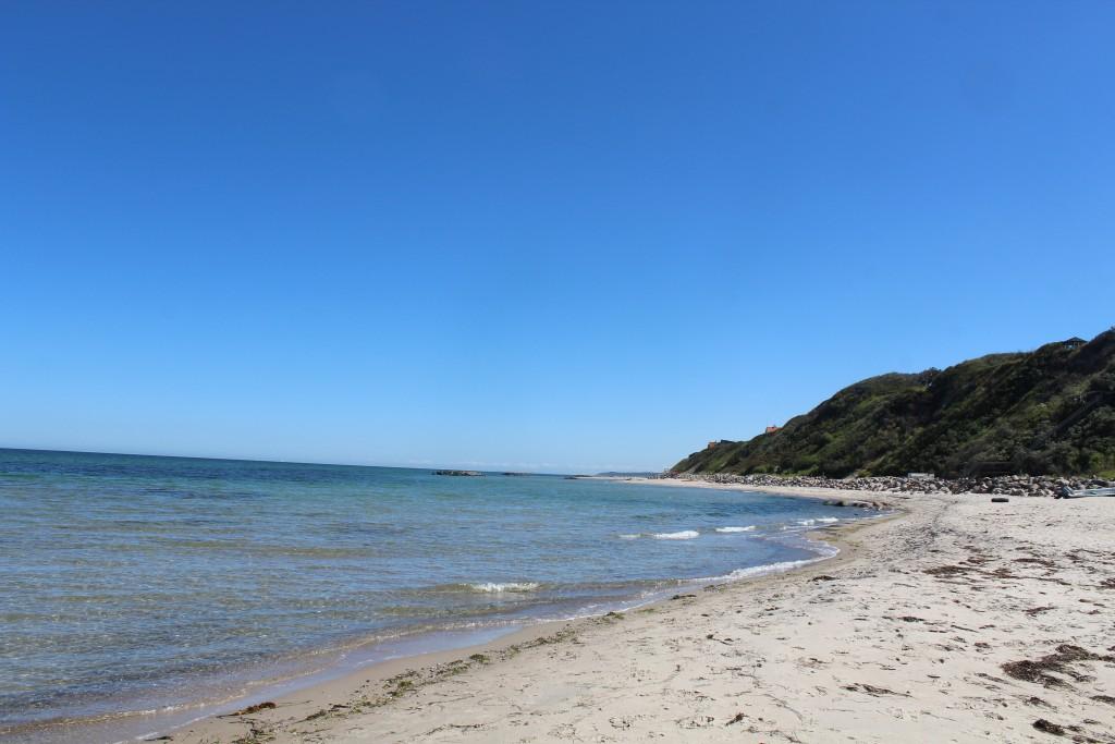 Hyllingebjerg beach. View in direction east to Liselje and Tisvildelej in hrrizon. Phot 1. jury 2015 by Erik K Abrahamsen