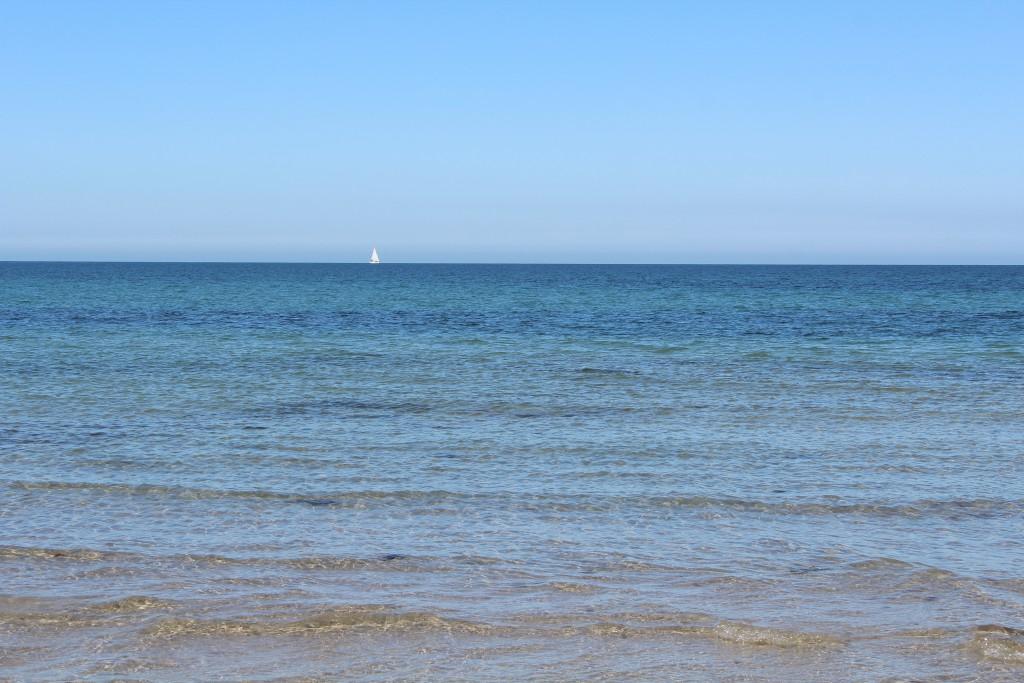 Hyllingebjerg Beach. View in direction north to Kattegat sea. Photo 1. juli 2015 by Erik K Abrahamsen