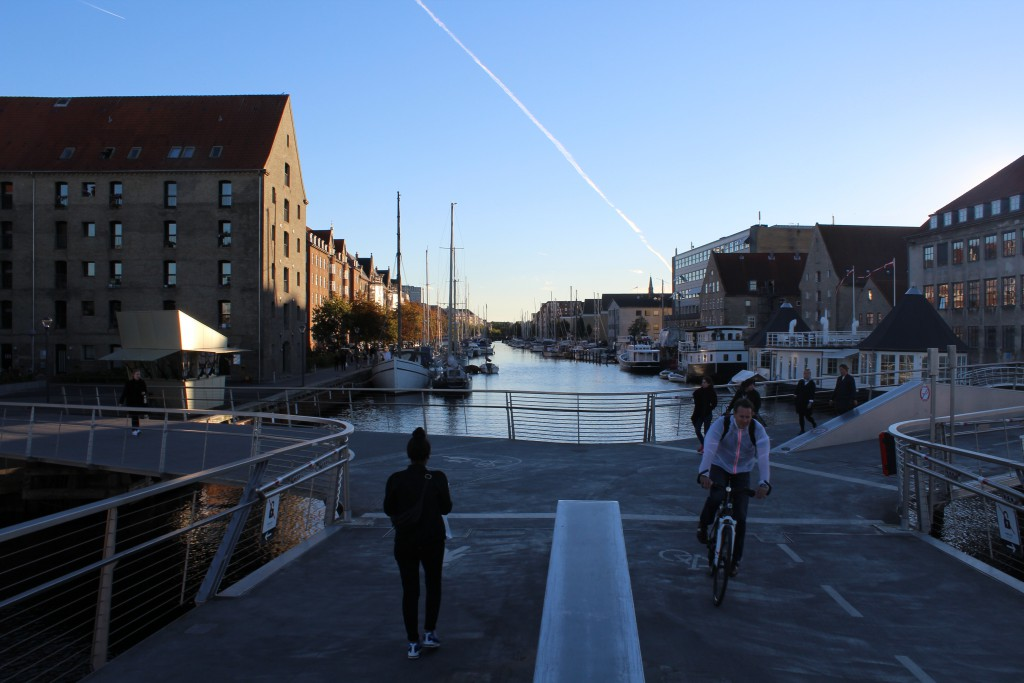 Trangravsboen. View in direction wet to Christianshavn Canal. Phot october 2015
