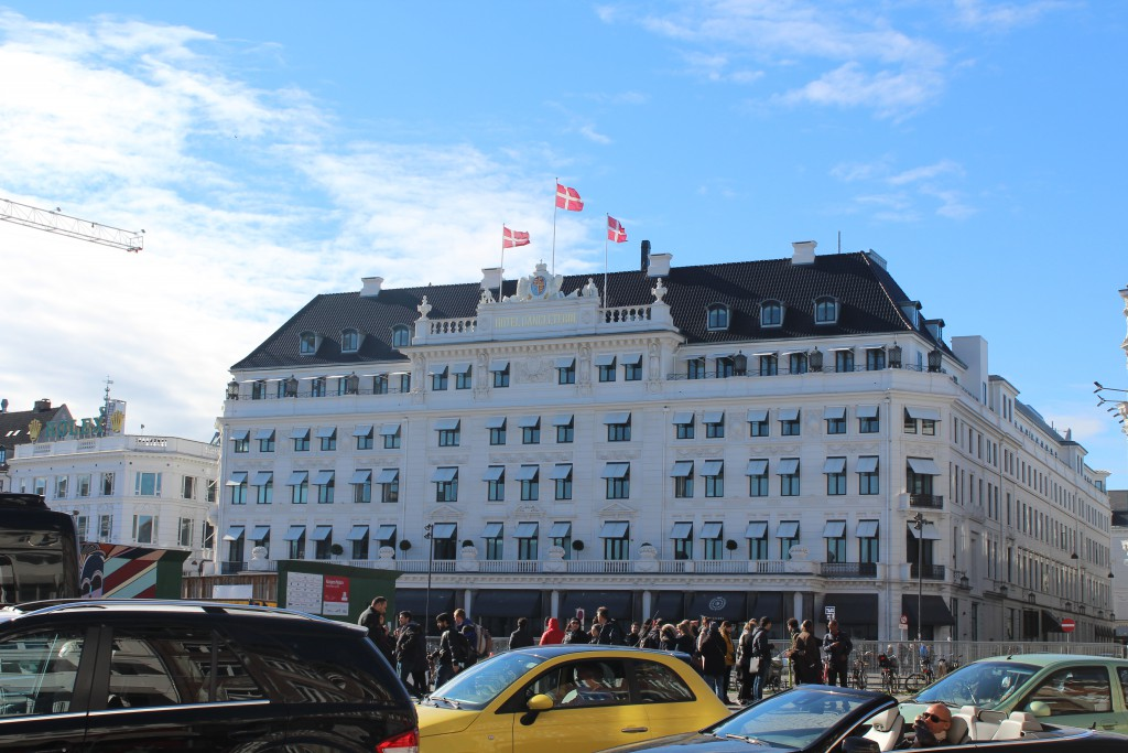 Hotel D´Angleterre, Kgs Nytorv, Copenhagen. Photo 12. oct
