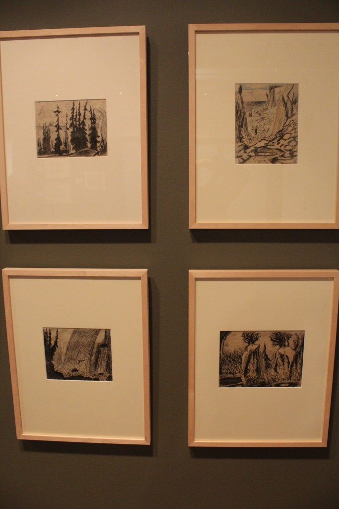 Carl Fredrik Hill: Drawings 1883-1911. Photo 27. november