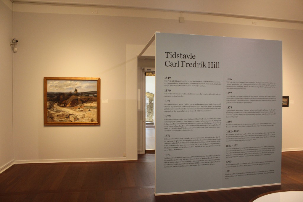 Carl Fredrik Hill 1849-1911 - exhibition in Nivaagaard
