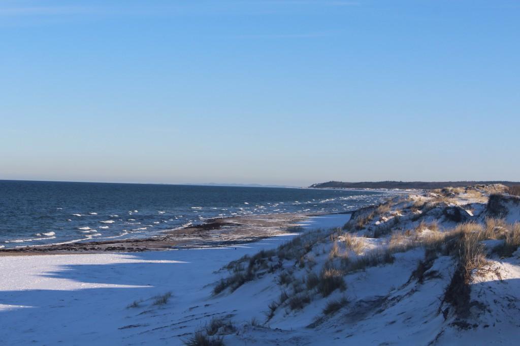 Liselej Beach at Kattegat Coast