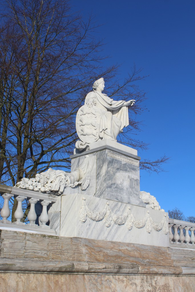 Denmark Monument by sculptor Wiedewelt 1760-70. Photo 22. january 2016 by erik K Abrahamsen.