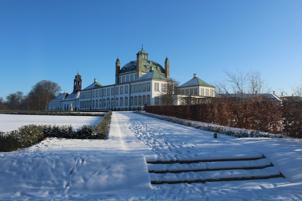 Fredensborg Casle and Baroque Garden. In from of north side