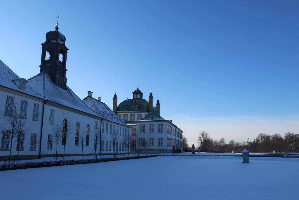 Fredenborg Castle Baroque Garden. Photo in direc22. january 2016 by erik K Abrahamsen