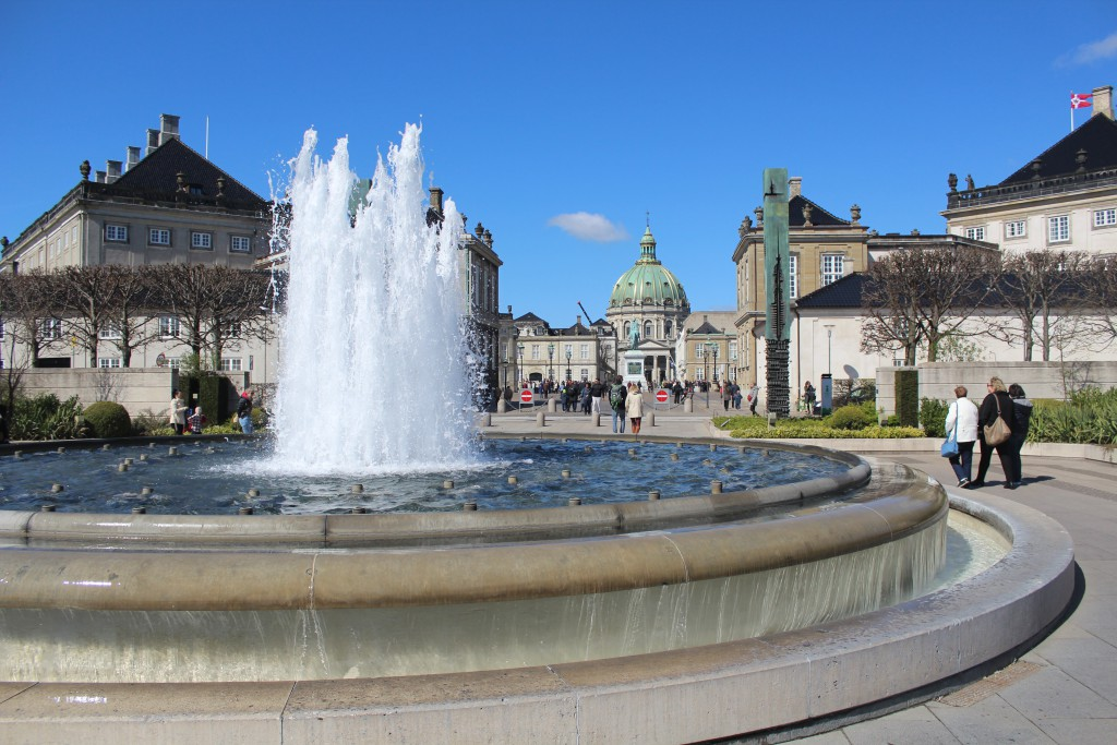 View to Amalienborg Castle from Amalie Garden. Photo 20.