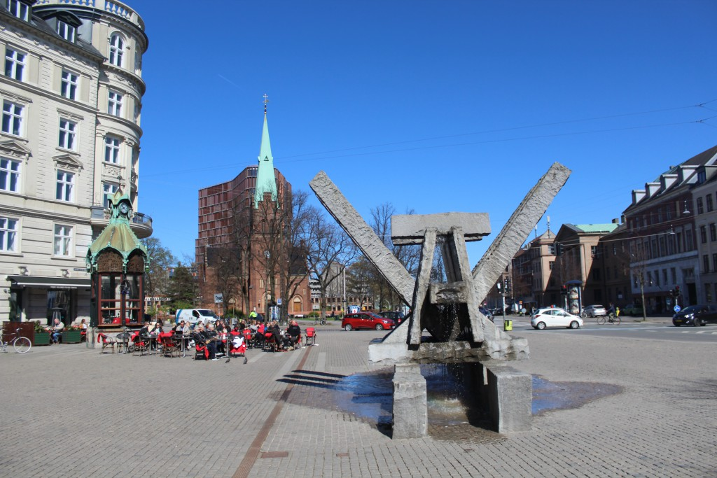 Sct. Hans Torv with Johannes Church and the new