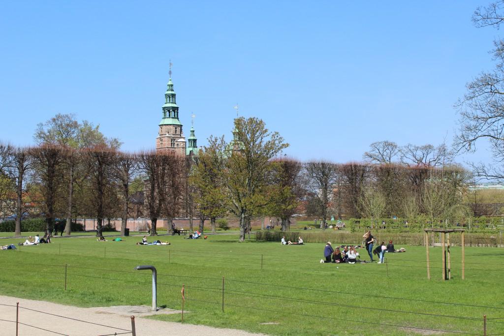 Rosenborg Castle, Kings Garden. Photo 2. may 2016 by Erik K Abrahamsen.