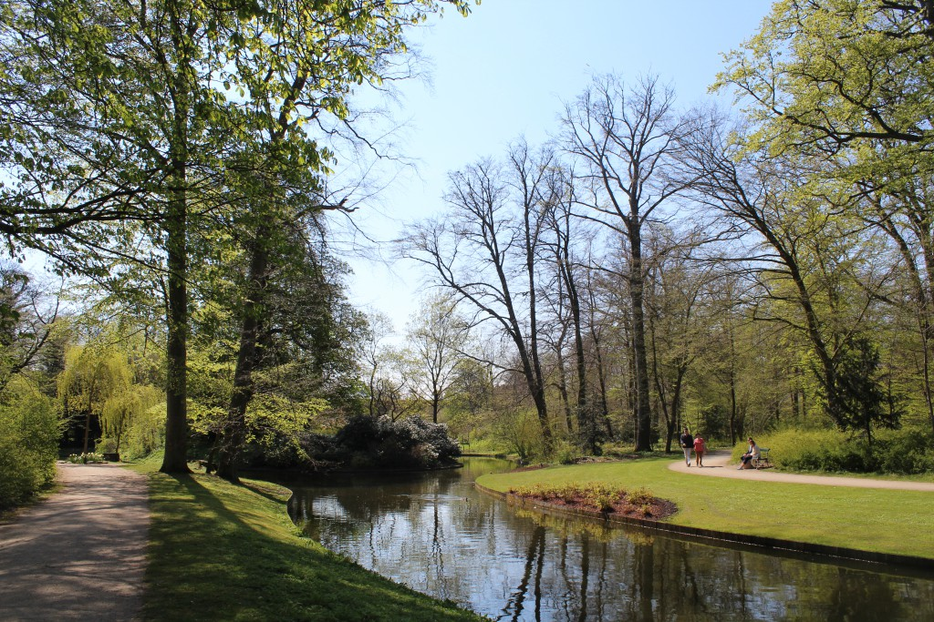 View to KILDEGROTTEN - Island of Grottos and Springs and surrounding romantic canals.