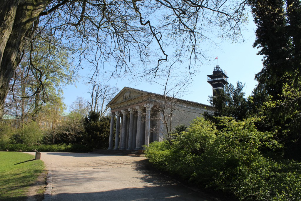 Apis Temple in greek style. Frederiksberg Garden.