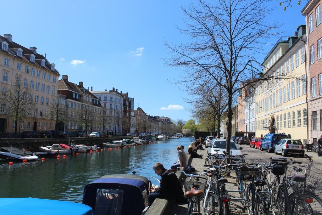 "North side of Christianshavn Canal. in street ""Neden"