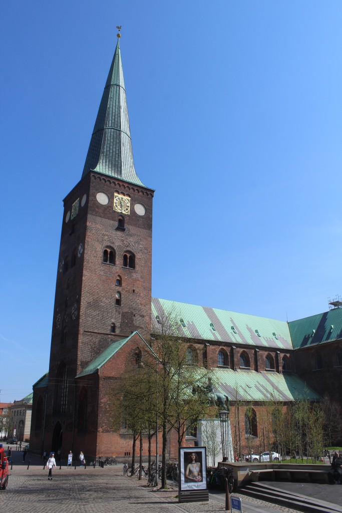 Aarhus Cathedral, Domkirken - the biggest church in Scandinavia. Photo 7. may 2016 by e