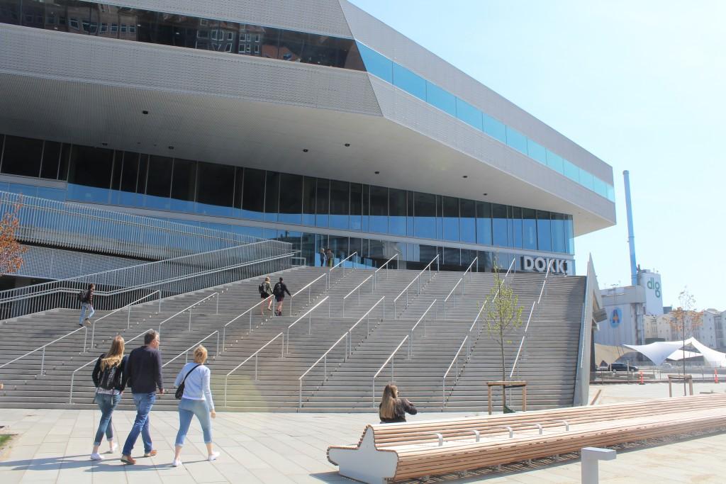 Main Entrance to DOKK1. Photo 7. may 2016 by er
