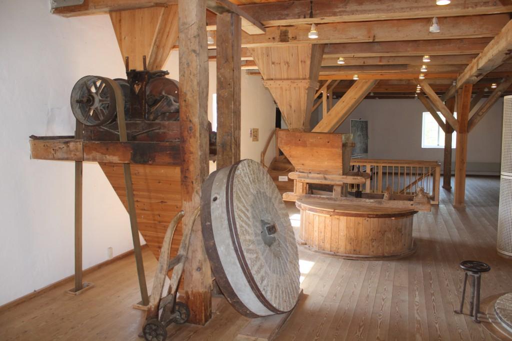 Millwork on Esrum Møllegård.