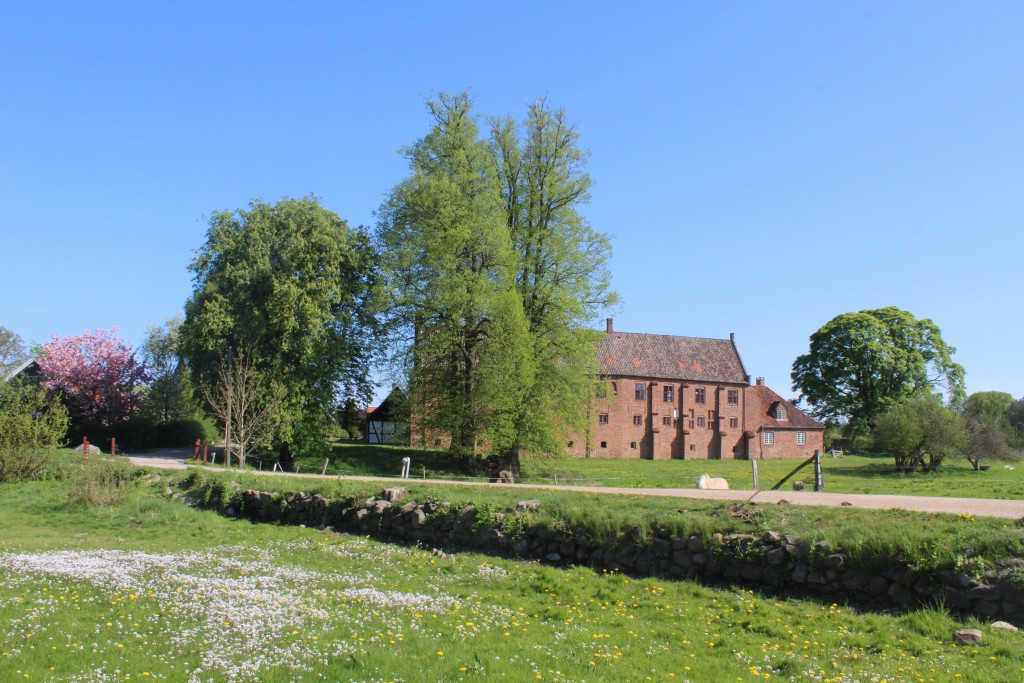Esrum Monastery. View in direction mort to original buildings of eastern monastery
