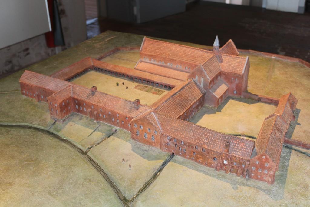 Model of Esrum Monastery.