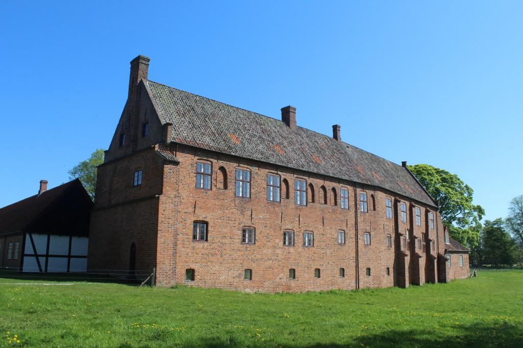 "Esrum Monastery with its ""Økonomi"" building. View in direction east . Photo12. may 2016 by Erik K Abrahamsen.Erik K Abrahamsen."