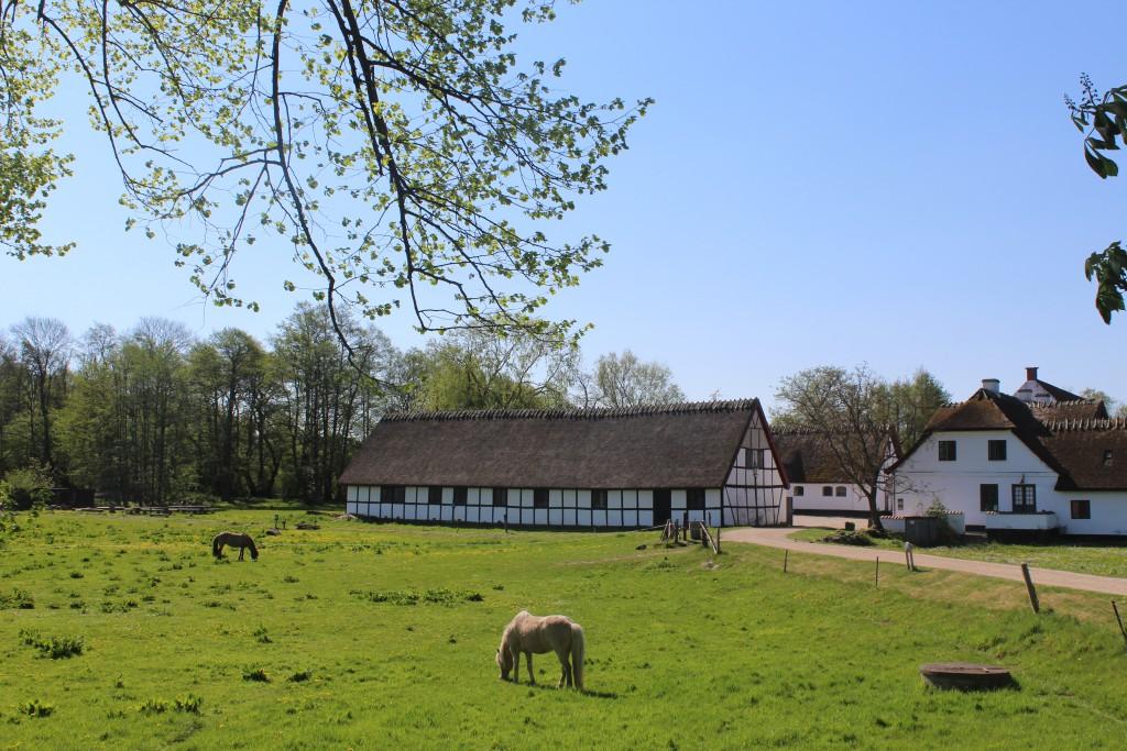 Esrum Møllegård - Esrum Mill and farm. Phoyo 12. may 2016 by Erik K Abrahamsen.
