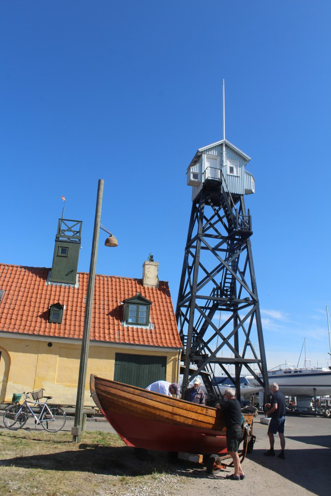 Pilot House and the 15 m high Pilot Tower.