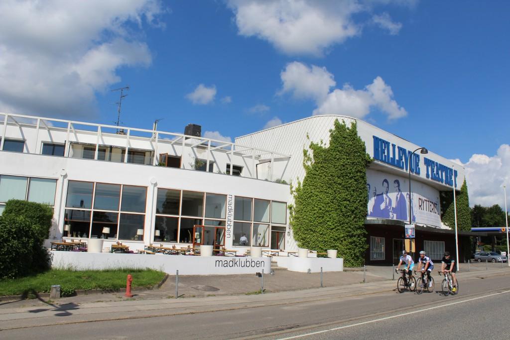 Bellevue Beatch complex by architect Arne Jacobsen