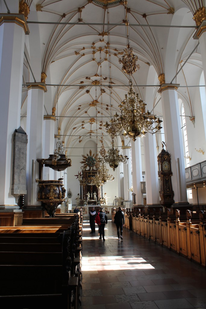 Trinitatis Church built 1635-54, Copenhagen, Denmark. Photo 2015 by Erik K Abrahamsen.
