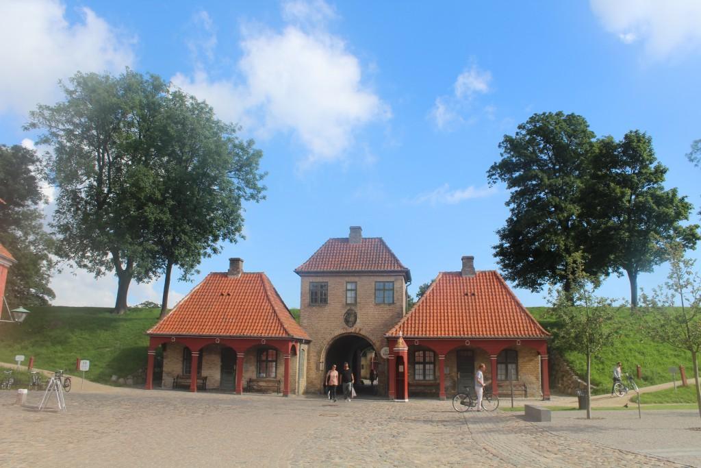 Norgesporten - north entrance af Kastellet built 1664. P