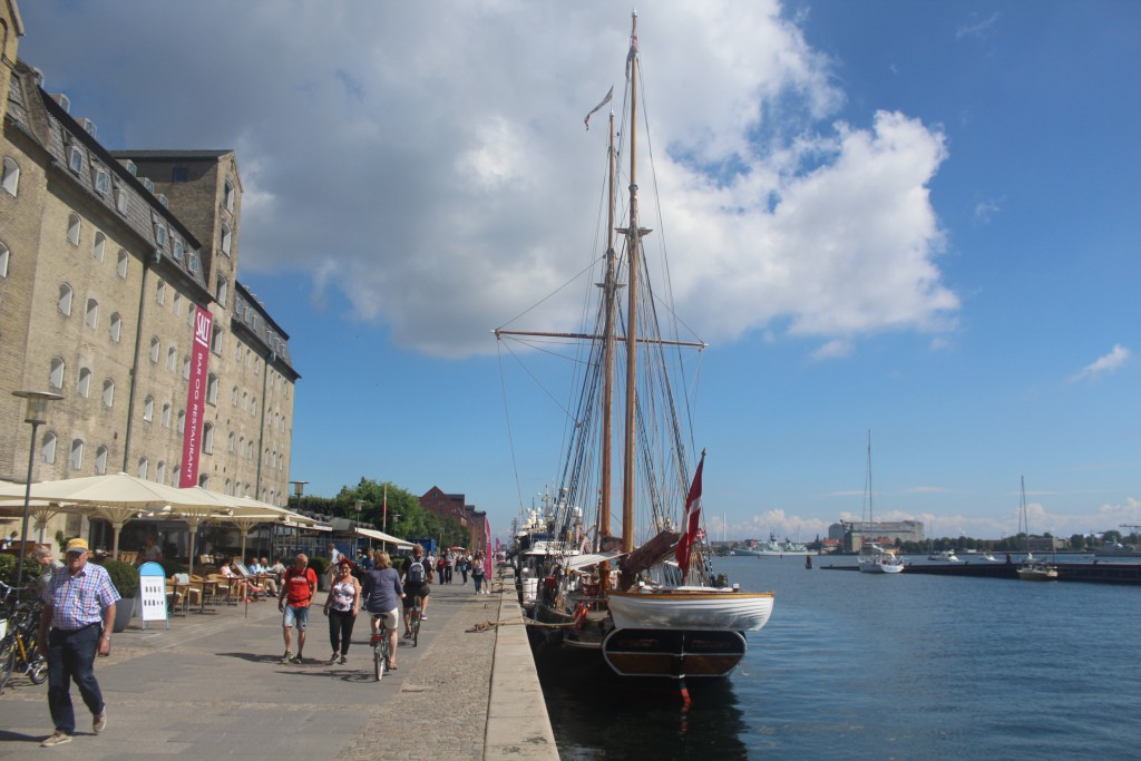 Copenhagen Inner Harbour. View to Admiral Hotel,