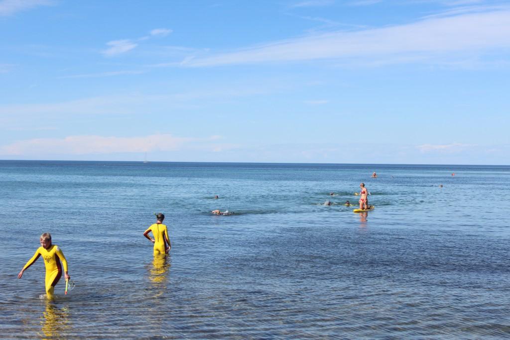 Ocean Rescue Camp Baisi ud for Livredderpost vest på Tisvilde Strand. En kvindelig