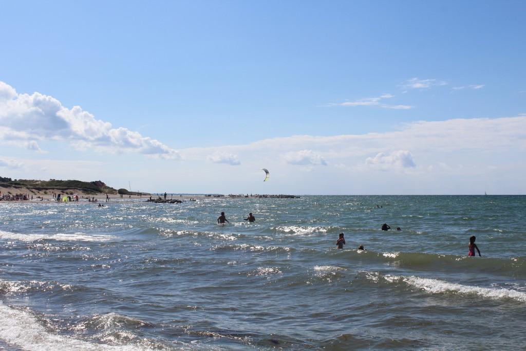 Liseleje Beach at Kattegat Sea. Phoot in direction west 28. july 2016 by Erikk K aBrahamsen.