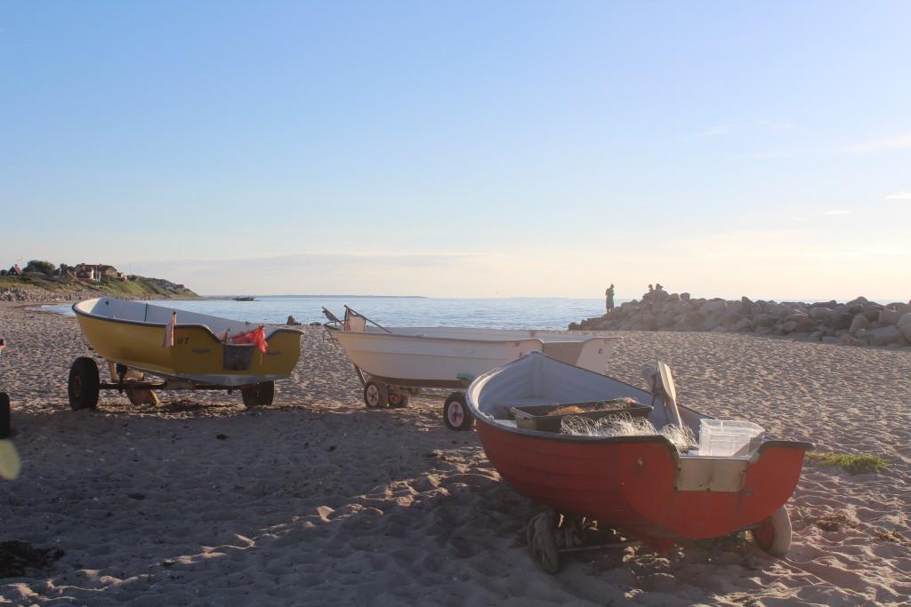 Liseleje Beach at Kattegat Sea. Phoot 27. july 23016 at 8 PM by Erik K Abrahamsen.