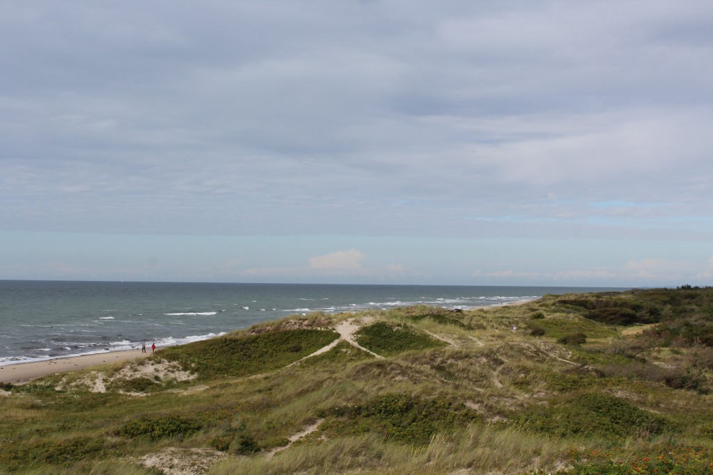 Tisvilde hegn, Troldeskovens beach. View in direction east to Kattegat Sea. Photo 4 PM 14 august 2016 by Erik K Abrahamsen
