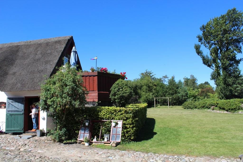 Lodsoldermandsgaarden. View from courtyard in direction north to north wing. Photo 17. august 2016 by Erik K Abrahamsen.