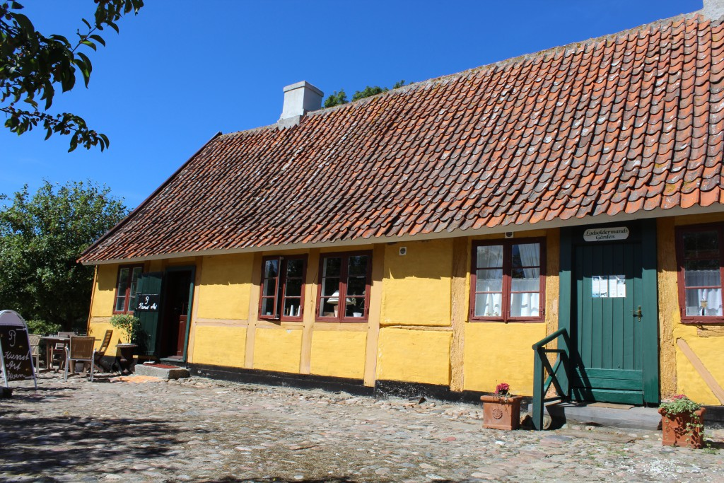 Lodsoldermansgaarden. The original east suing built 1681 as main Custom Building for all Isefjord Area. Photo in direction s