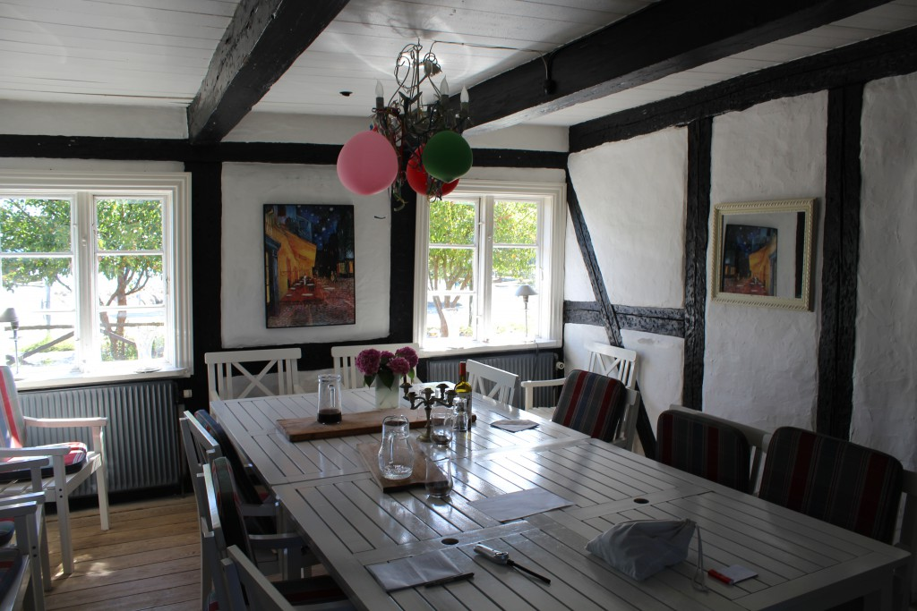 Dining Room in east wing of original