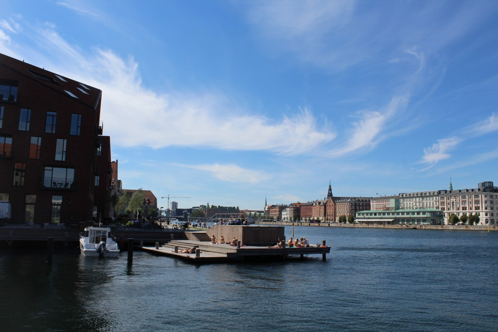 Copenhagen Inner Harbour - b view in direction west from Grønlandske handles Plads o