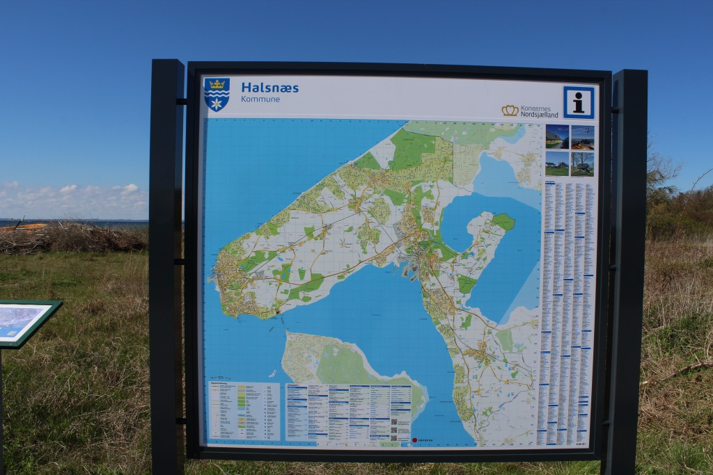 Kort over Halsnæ