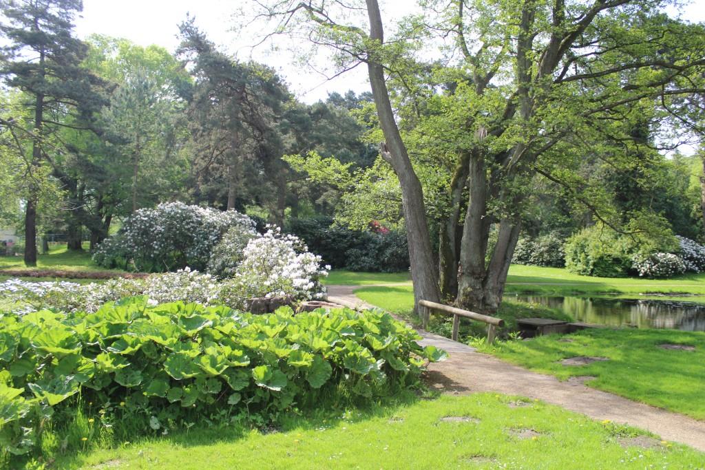 Haveanlæg overfor Mindemærke for faldne sønderjyser i 1. verdenskrig 1914-18
