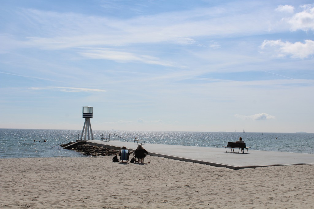 Bellevue Strand, Klampenborg. Foto