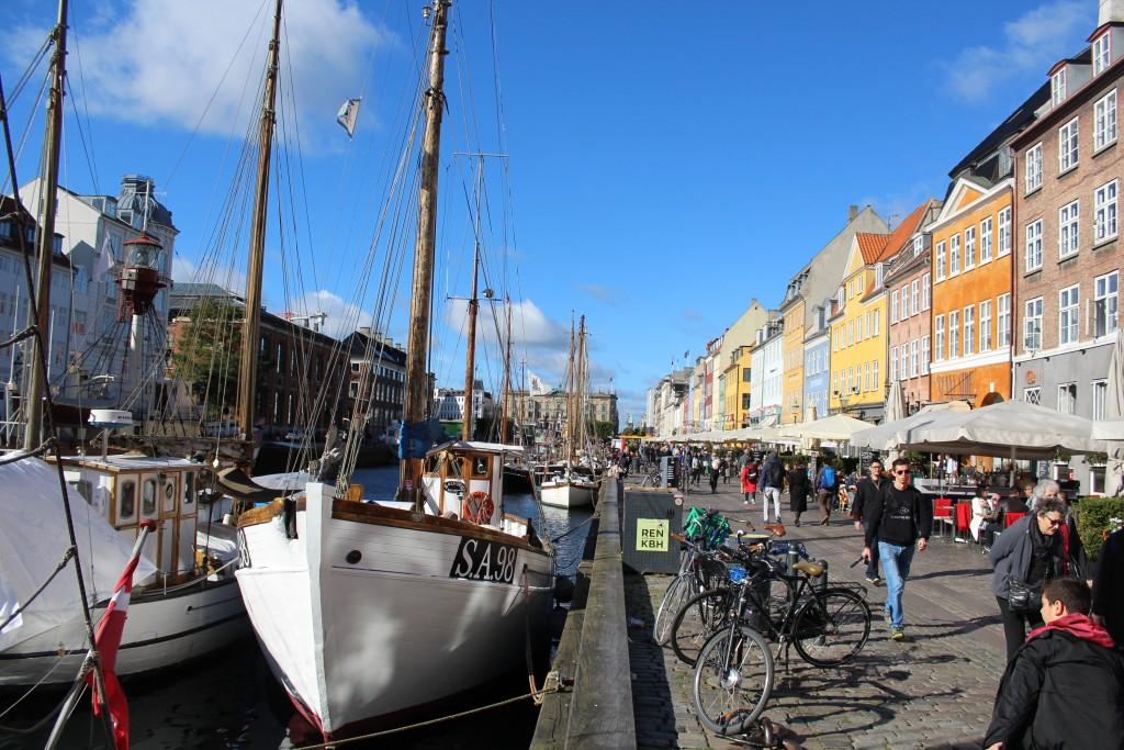 Nyhavn. Photo 9. october 2017 af Erik K Abrahamsen.