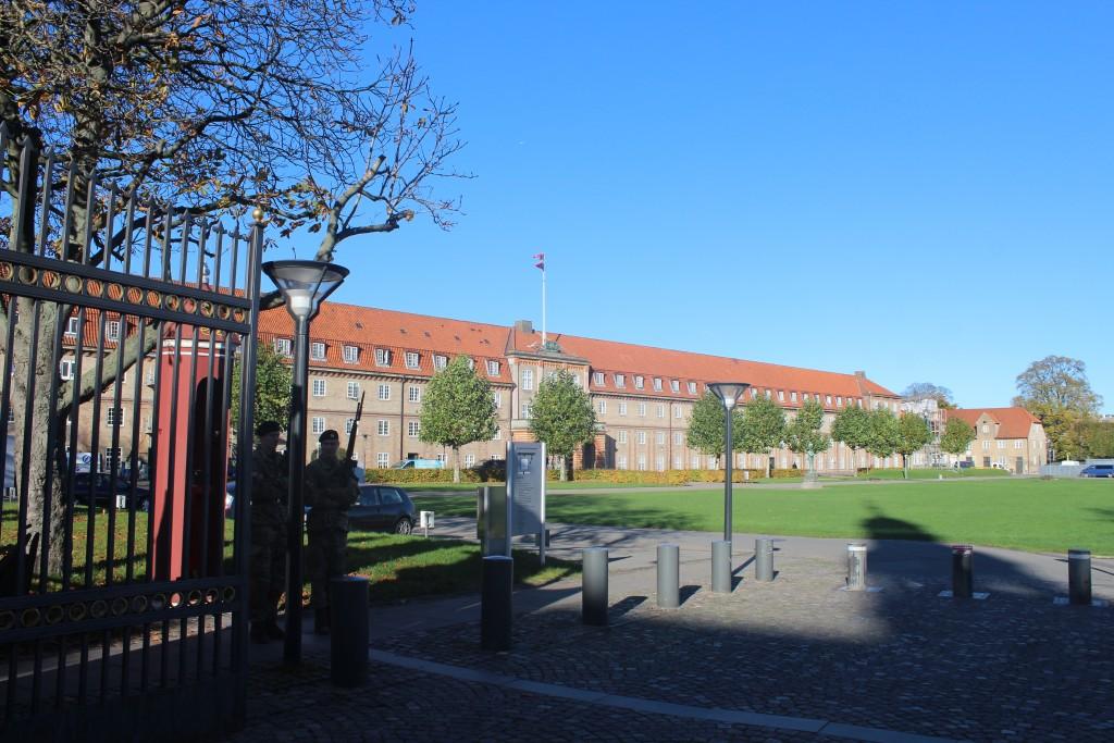 Livgardens Kasene i Gothersgade. Foto den 30. oktober 2017 af Erik K Abrahamsen