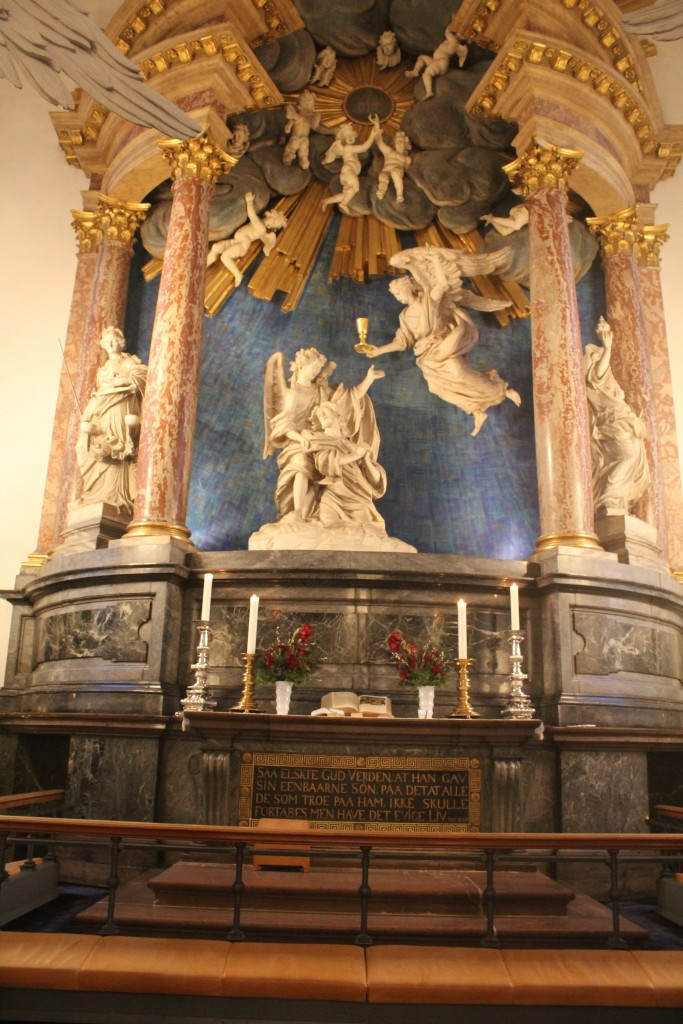 Our Saviour Church, Christianshavn, Copenhagen. Alter by