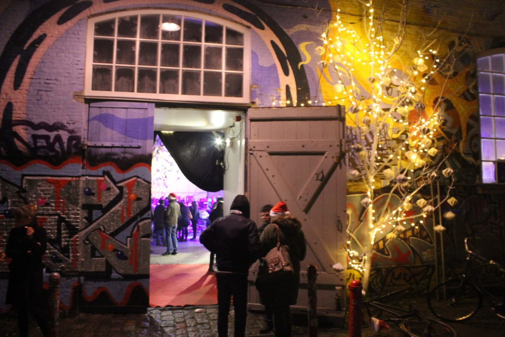 Entrance to Grey hall in Fretown Christiania. Photo 24. december 2017 by erik K Abrahamsen
